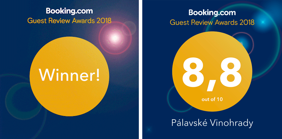 Booking ocenění